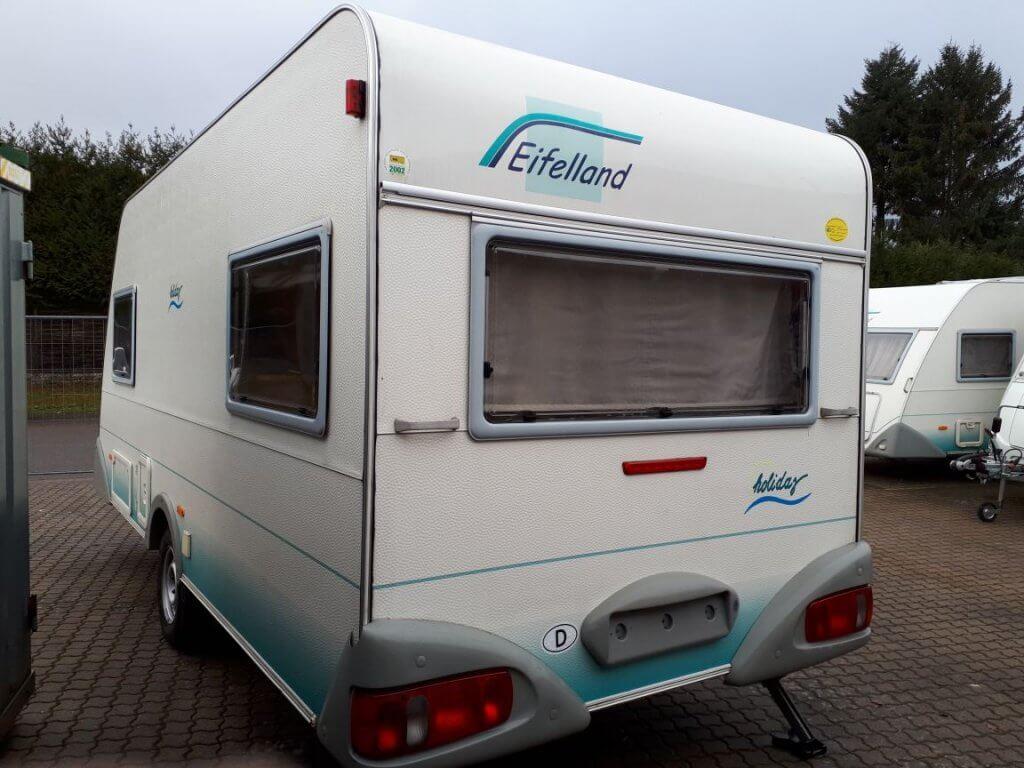 Wohnwagen Eifelland Mit Etagenbett : Wohnwagen eifelland mit einzelbetten und vorzelt eur