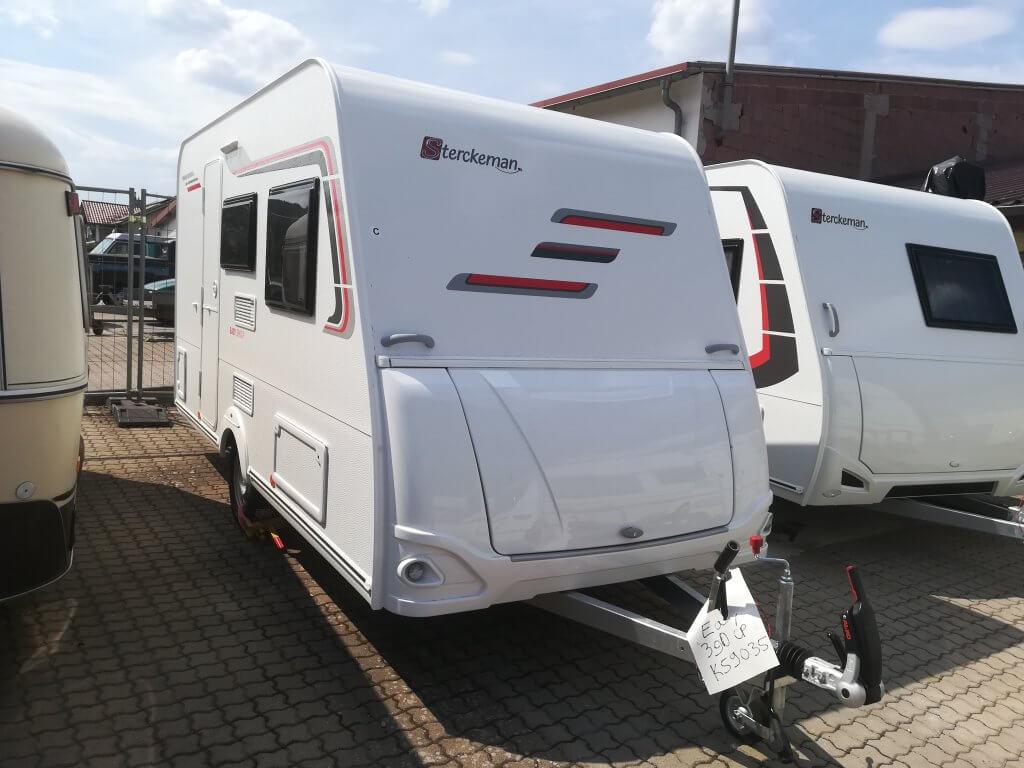 Wohnwagen Etagenbett Sterckeman : Sterckeman starlett dd etagenbett wc kg in